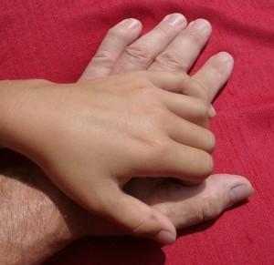 2003_Lisa+Papa-Hand