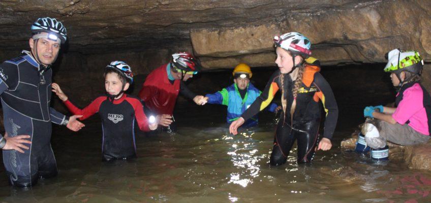 Höhlentour mit Kindern am Vatertag